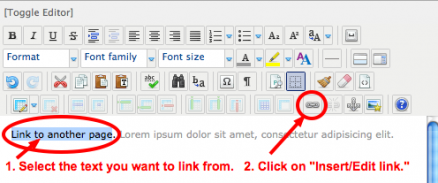 How to Create Links in Articles and Modules